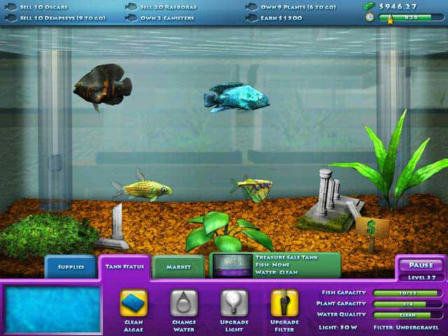 download fish aquarium game