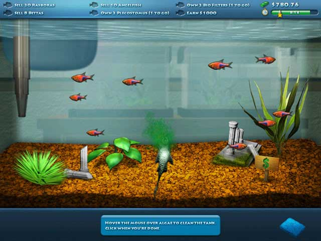 Fishco aquarium game for Fish tank online